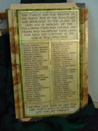 WM3142 War Memorial Trust
